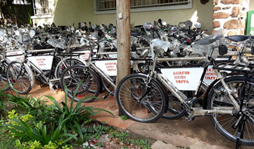 AUXFIN Burundi welcomes UN's second edition of World Bicycle Day